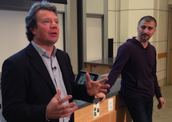 Giuseppe Zocco, Index Ventures & Emrah Yalaz, String Ventures - Mar 2014