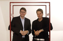 Skype Founders Niklas Zennström and Janus Frii (Estonia)